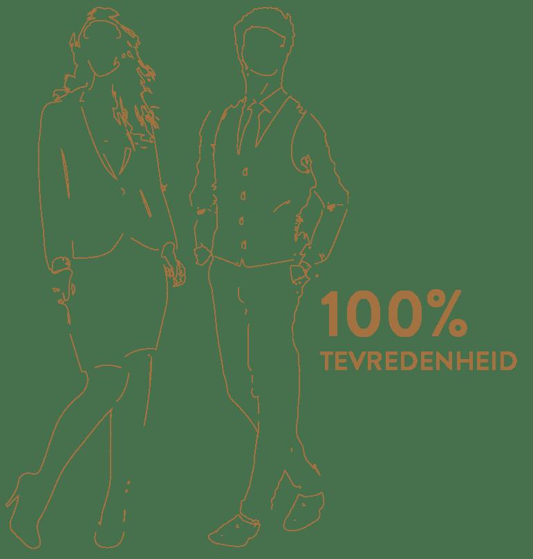 Corporate Fashion met 100% tevredenheid Suit Up