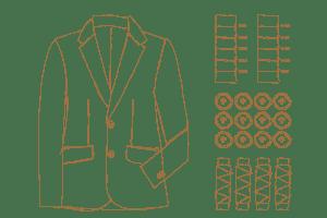 Exclusieve bedrijfskleding Suit Up