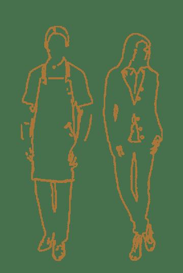 Bedrijfskledij horeca bediening Suit Up