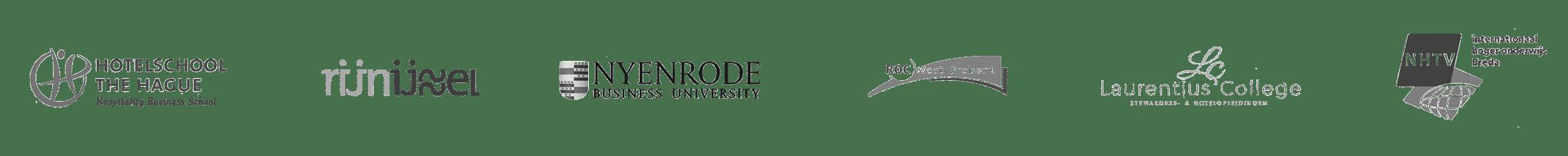 SU logo's scholen website