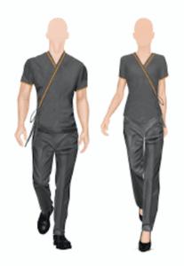 Illustratie spa therapist Suit Up