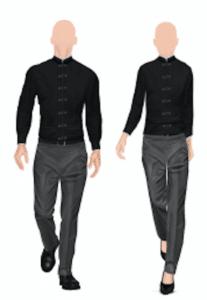 Illustratie taiko bediening Suit Up