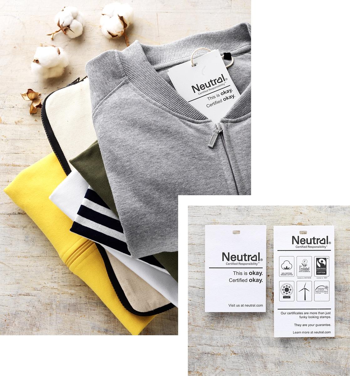Duurzame neutral certified bedrijfskleding