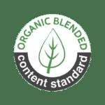 Organic Blended content standard logo