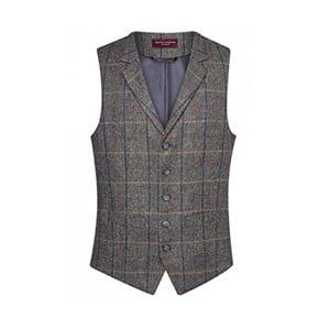 Suit-Up-bedrijfskleding-gilet-brook-taverner-ruit-grijs