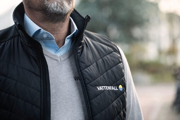 Suit Up corporate fashion voor Vattenfall