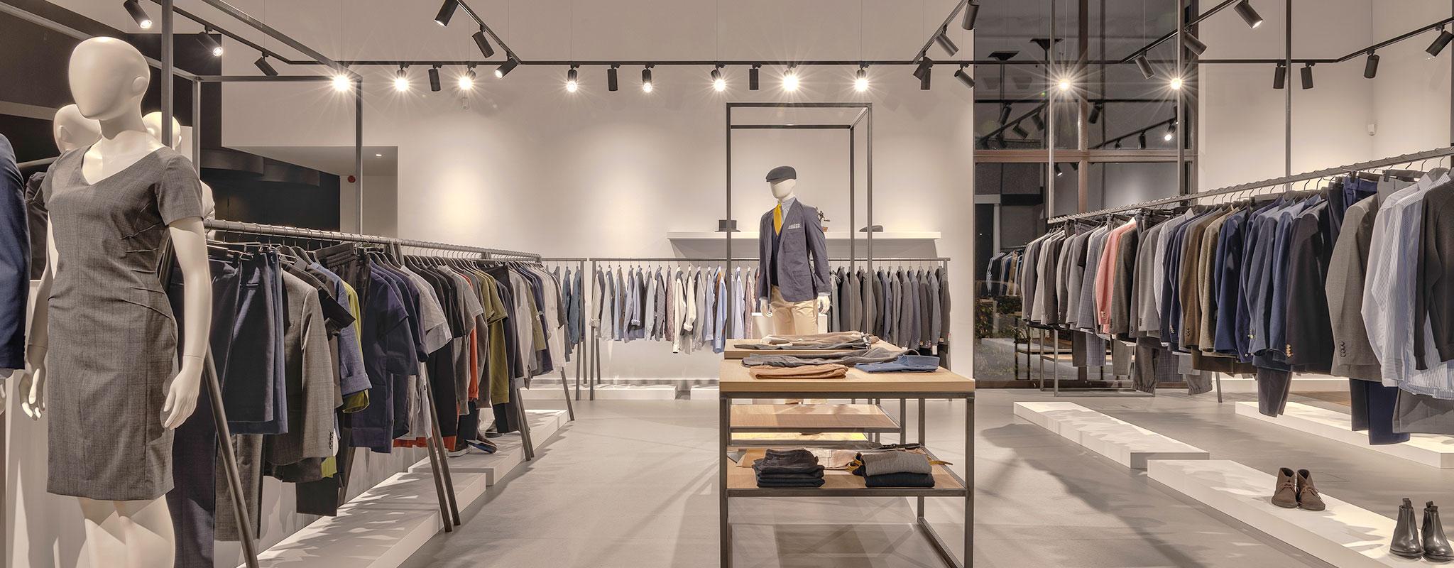Bedrijfskledij showroom Suit Up Breda